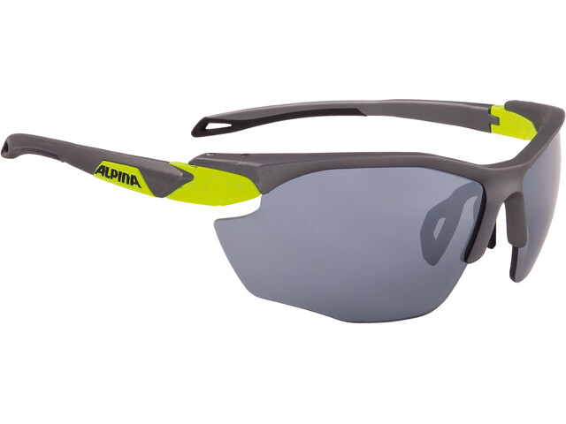 Alpina Twist Five HR CM+ Glasses tin matt-neon yellow